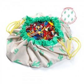Play and go storage bag - cactus