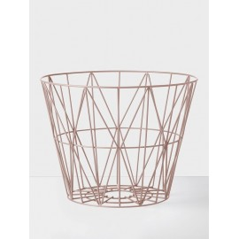 Wire Basket Rose - Large