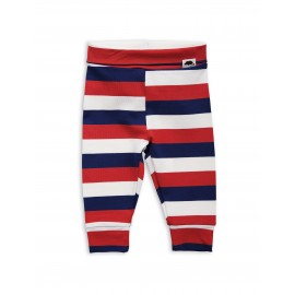 Blockstripe leggings newborn multi