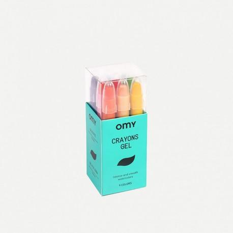 Omy Gel crayons