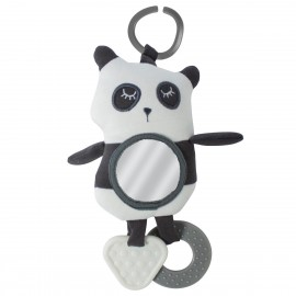 Car seat activity toy- panda
