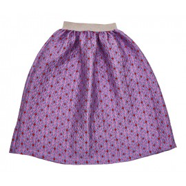 Lilac hearts skirt