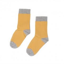 Socks- marigold/grey