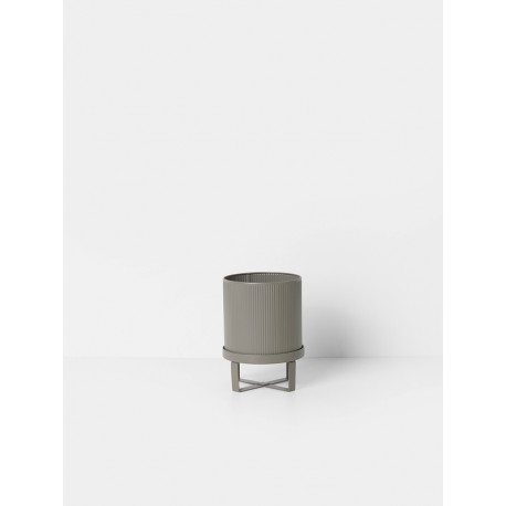 Bau Pot, warm grey, small