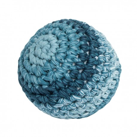 Crochet ball L - royal blue