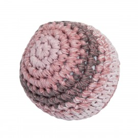 Crochet ball L - midnight plum
