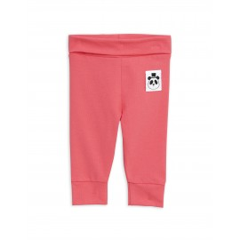 Basic newborn leggings - pink
