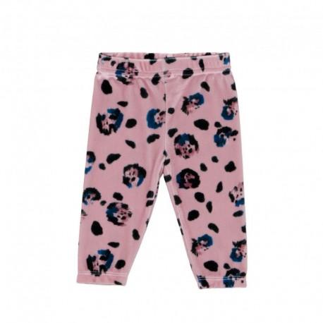 Baby Velvet leggings - leopard