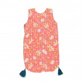 Sleeping bag Arianna - coral flower