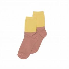 Socks- raspberry/sauterne
