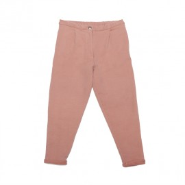 Cropped chino - raspberry