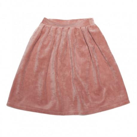 Velvet skirt - raspberry
