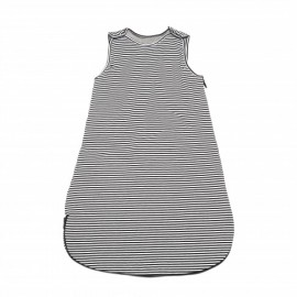 Sleeping bag - black/white stripes