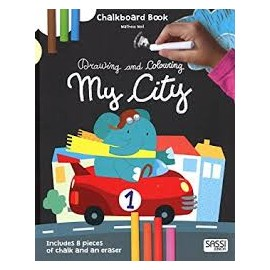 Chalk board Book My City