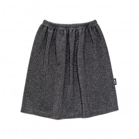 BACK TO BLACK sparkle skirt