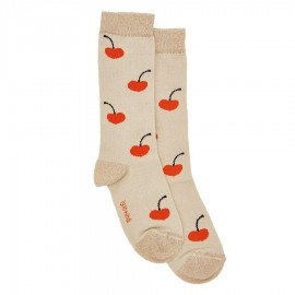 Pale Cherry socks
