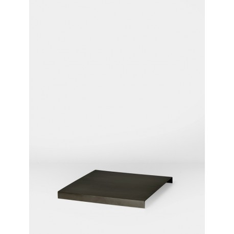 Tray for Plant box - black brass