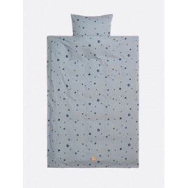 Moon Bedding in blue - Single size