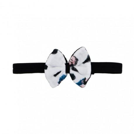 Bow Tie - stripy/snow leopard