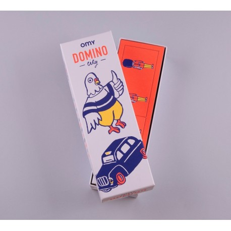 OMY Box of Domino game