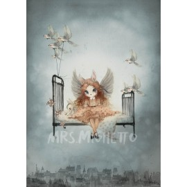 "Mrs. Mighetto 50X70"" MISS OLIVIA"" print"
