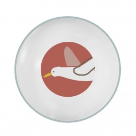Melamine bowl - Singing Birds