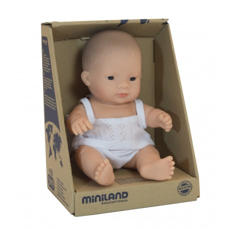 BABY DOLL ASIAN BOY 21CM