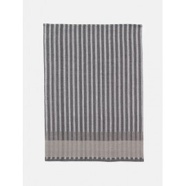 Grain Jacquard tea towel - grey