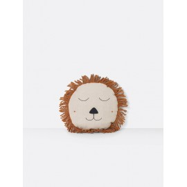 Safari cushion lion-natural