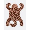Safari tufted rug - leopard
