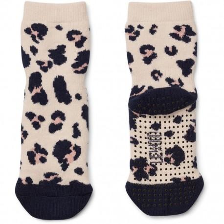Nellie anti slip socks - Leo beige beauty