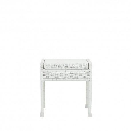 Storrie stool - white