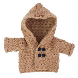 Dolls clothing - jacket - brown