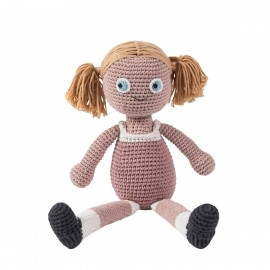 Crochet doll - Rose