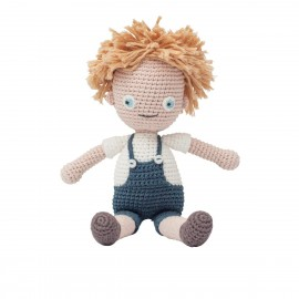 Crochet doll - Birk