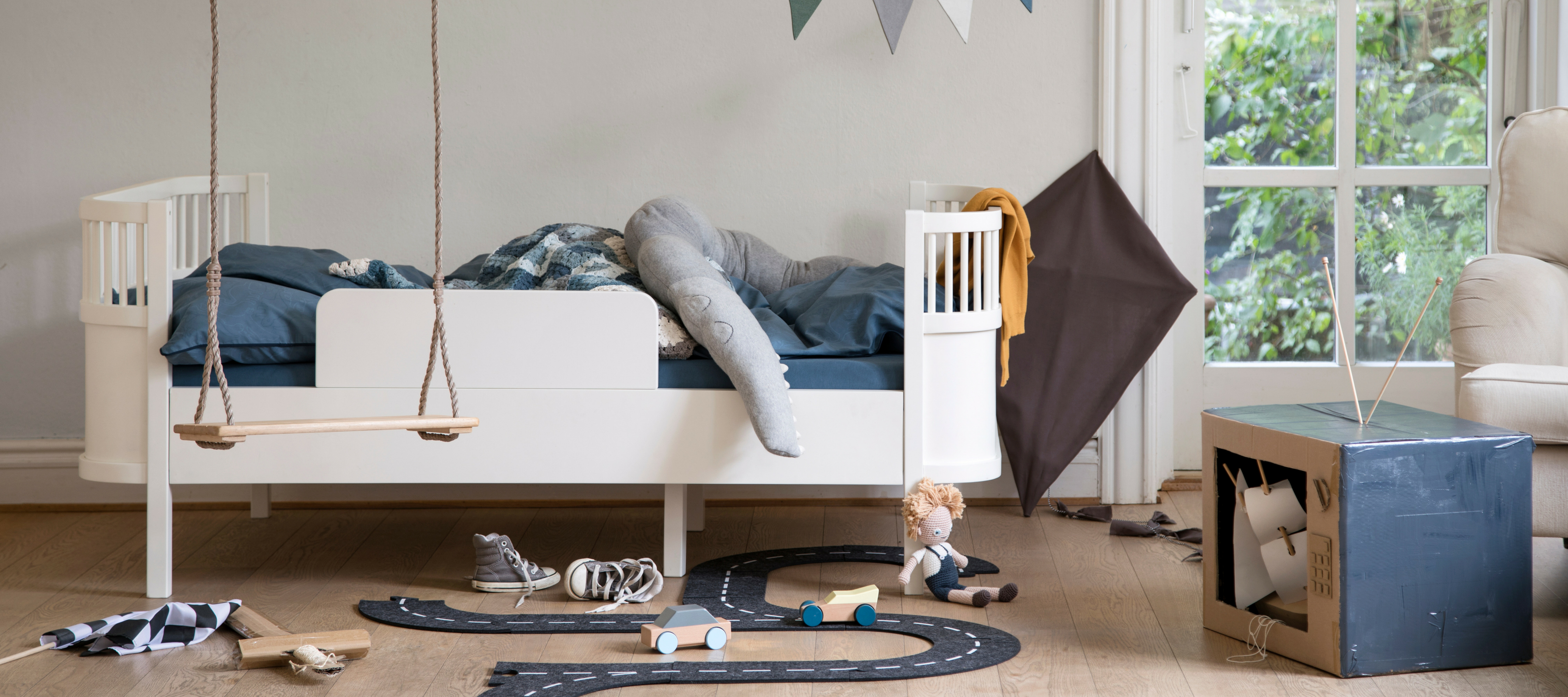 Sebra Junior bed